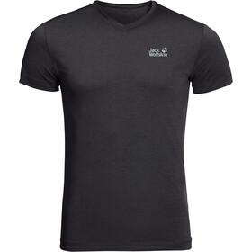 Jack Wolfskin JWP T-Shirt Heren, zwart